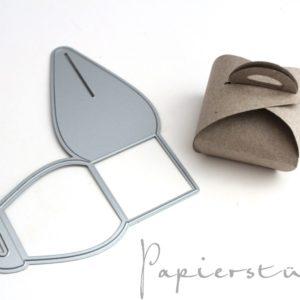 Papierstücke Stanzen